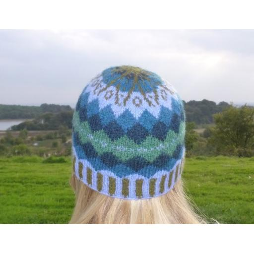 Gartmorn Fair Isle Hat Pattern