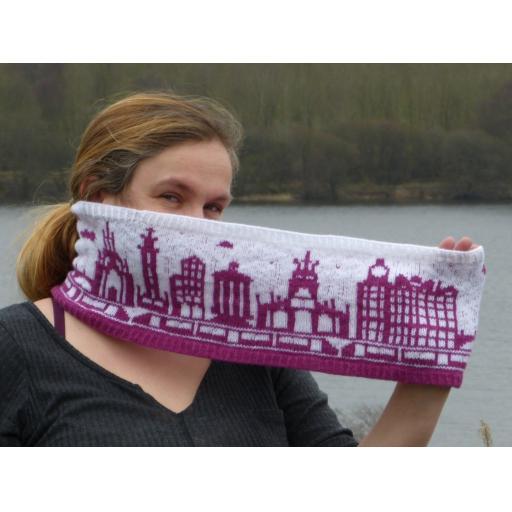 Edinburgh Skyline Hat/Cowl Kit