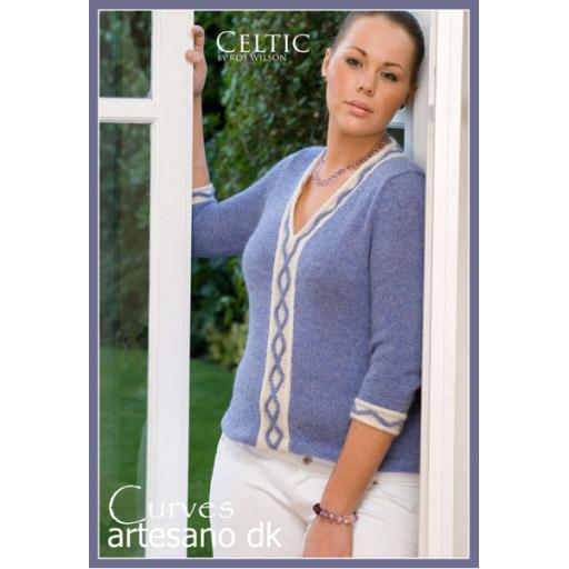 Artesano CC003: V necked jumper with separate detailing