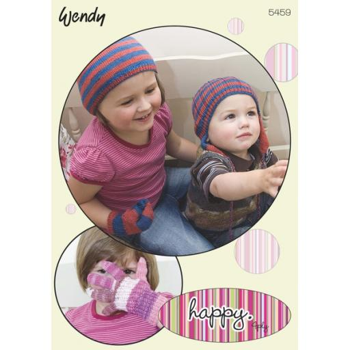 Wendy 5459:Children's hats, gloves and mitts