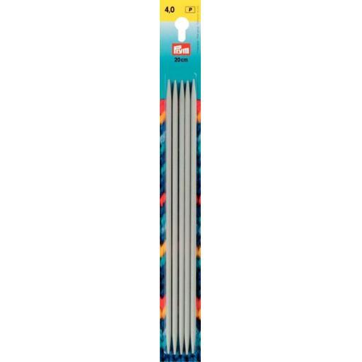 Prym Aluminium DPNs: 20cm