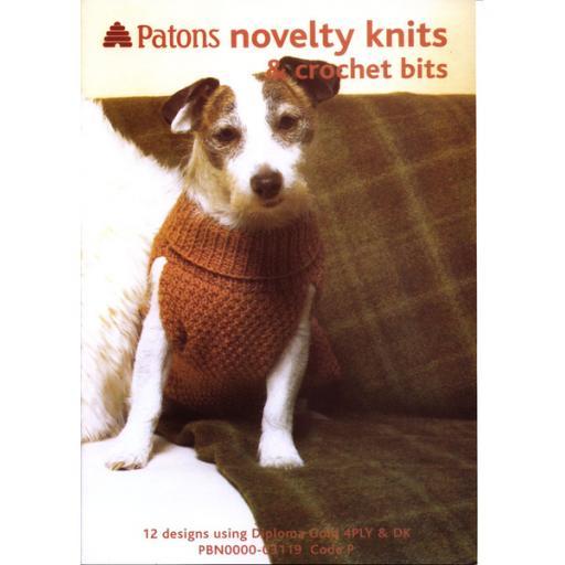 Patons 3119: Novelty Knits and Crochet Bits