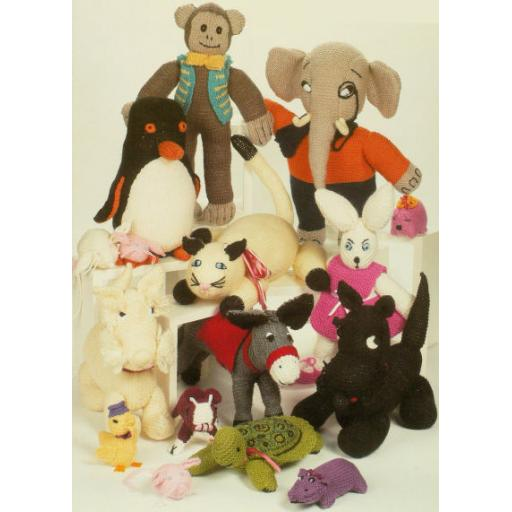 Patons 3056: Knitted animals