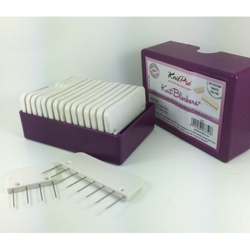 KnitPro Blockers - set of 20