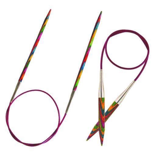 Knitpro Symfonie wood circular needle: 40cm