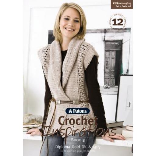 Patons 3625: Crochet inspirations book 3