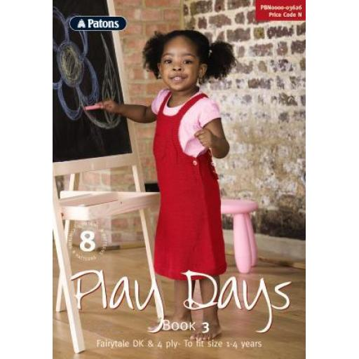 Patons 3626: Play Days Book 3