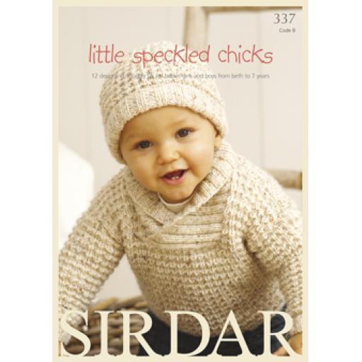 Sirdar 337: Little Speckled Chicks