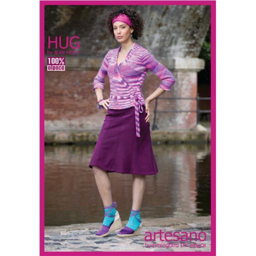 Artesano HD013: Tie-fronted cardigan by Jean Moss.