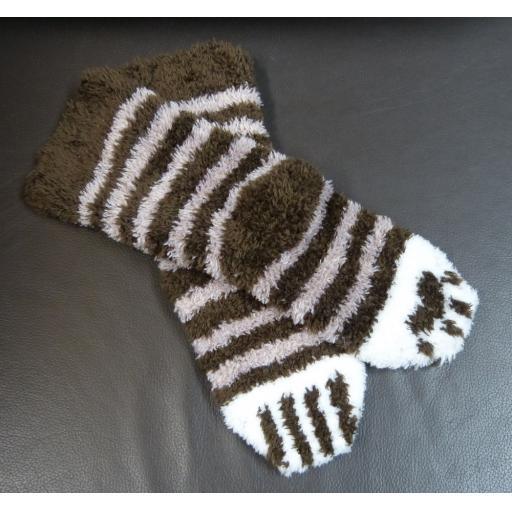 Cat Paw Socks Pattern