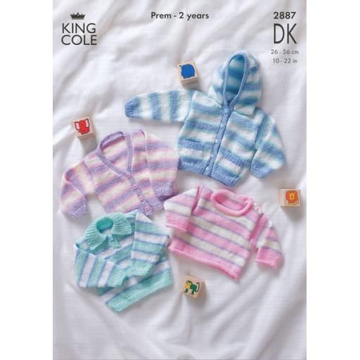 King Cole 2887: Jumpers, cardigans and hoodies