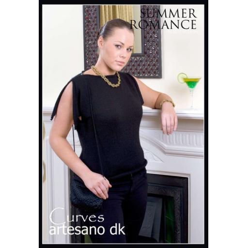 Artesano CC012: Slashed neck sleeveless top