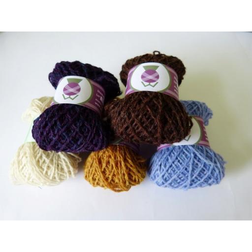 Gartmorn Fair Isle Hat Kit