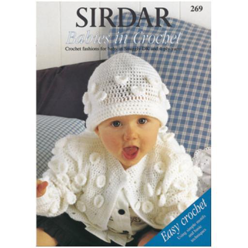 Sirdar 269: Babies in Crochet