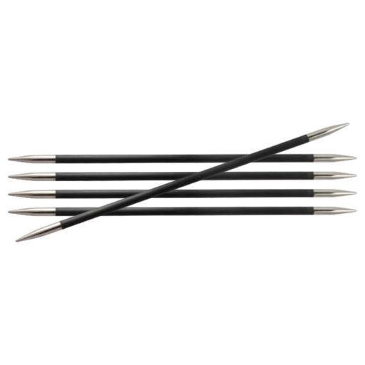 KnitPro Karbonz 15cm DPNs