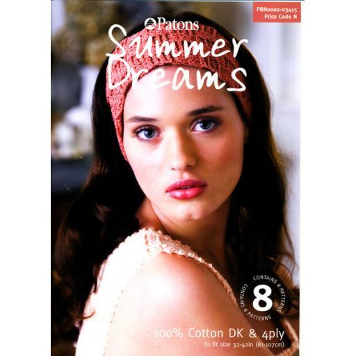 Patons 3415: Summer Dreams Crochet Book