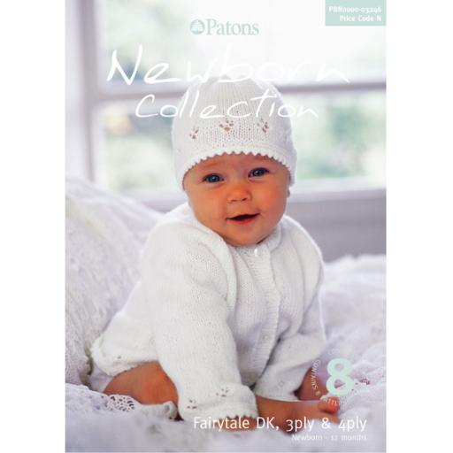 Patons 3246: Newborn Collection