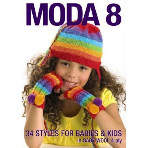Patons MODA8: Moda Book Issue 8