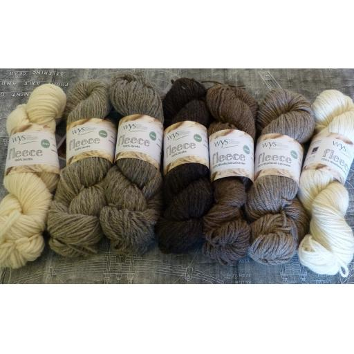 West Yorkshire Spinners Undyed British Breeds Aran