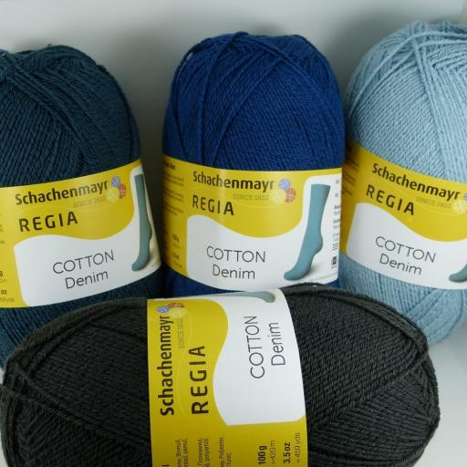 Regia Cotton Denim 4ply 100g