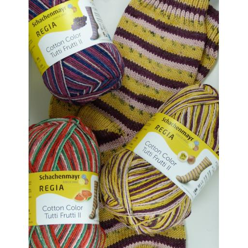 Regia Cotton Tutti Frutti Colour