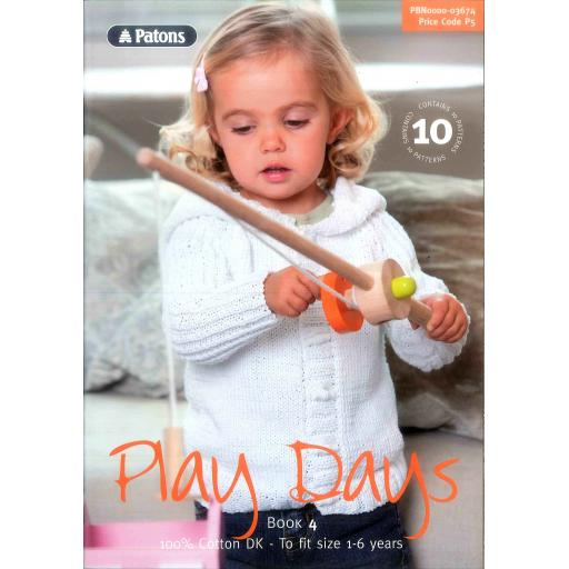 Patons 3674: Play Days Book 4